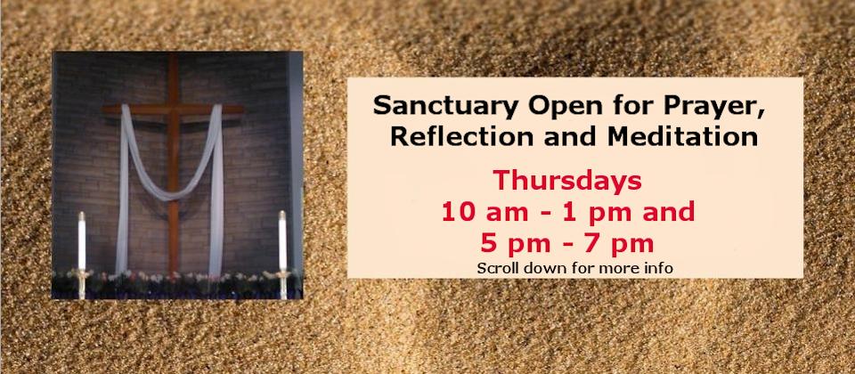sanctuary open